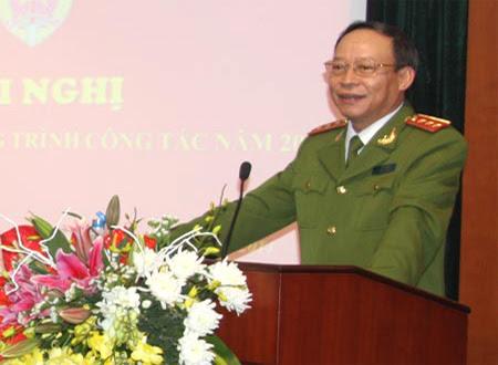 Lê Quý Vương,  Phạm Quý Ngọ, bộ công an