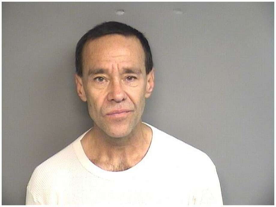 Robert Butler, 57, of Stamford, was charged with trying to break into an office inside a Washington Boulevard building on Saturday night. Police say he is a suspect in other office break-ins. Photo: Stamford Police / Contributed