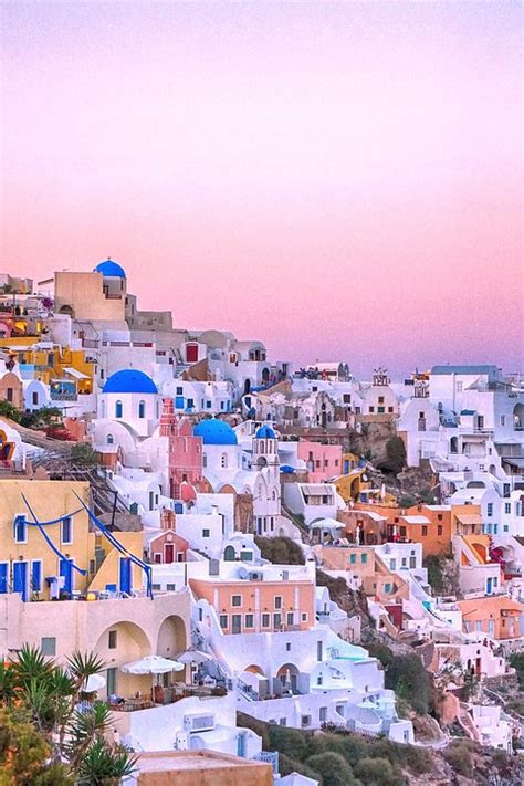 photo santorini wallpapers greece travel max pixel