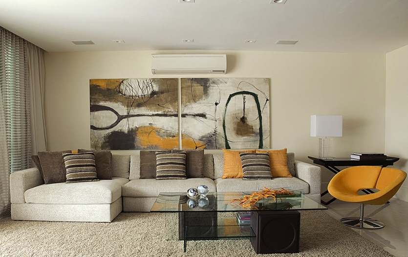 16 Fabulous Earth Tones Living Room Designs | Decoholic.
