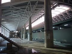 新烏日站-施工中的大廳