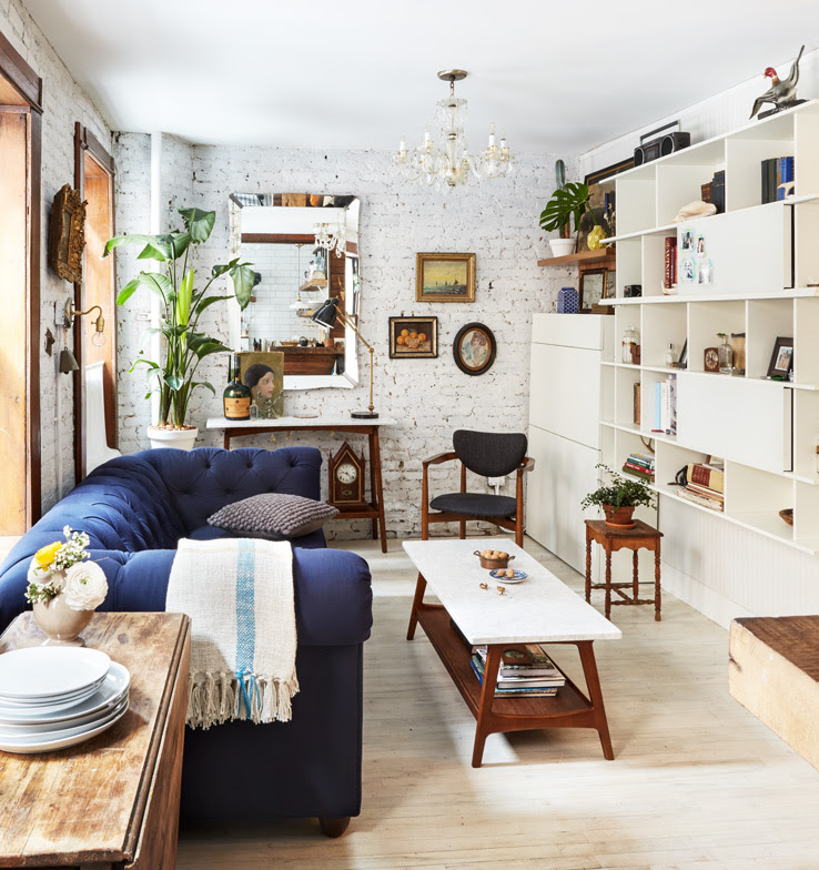 Tiny Living Room Transformation in NYC | west elm