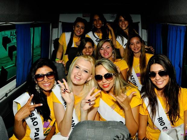 Nove garotas disputam o título de Miss Surda Brasil 2015 (Foto: Eunivan Silva/Lelé Fantim/Miss Surda Brasil/Divulvação)