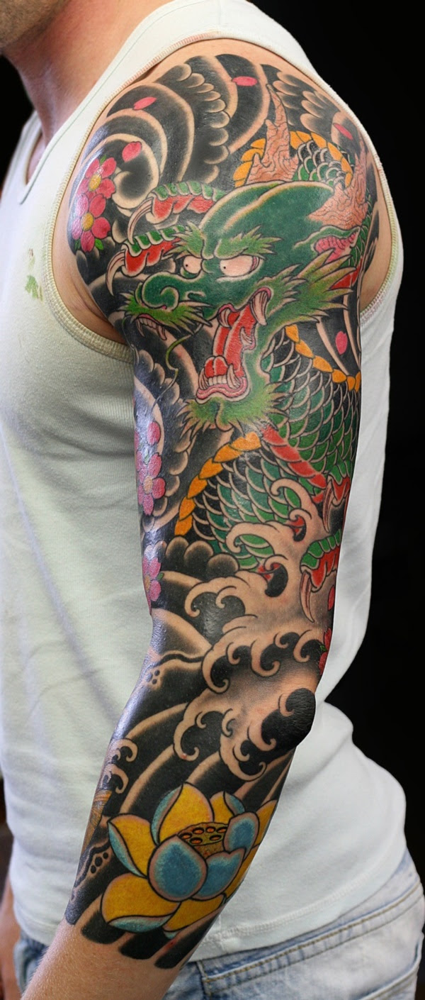 50 Cool Japanese Sleeve Tattoos For Awesomeness