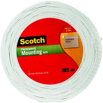 3M Scotch DOUBLE-SIDED FOAM TAPE Permanent 4016