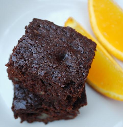 Orange Brownies TS