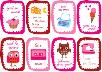 15 Free Printable Valentine Cards - Things to Make and Do, Crafts ...