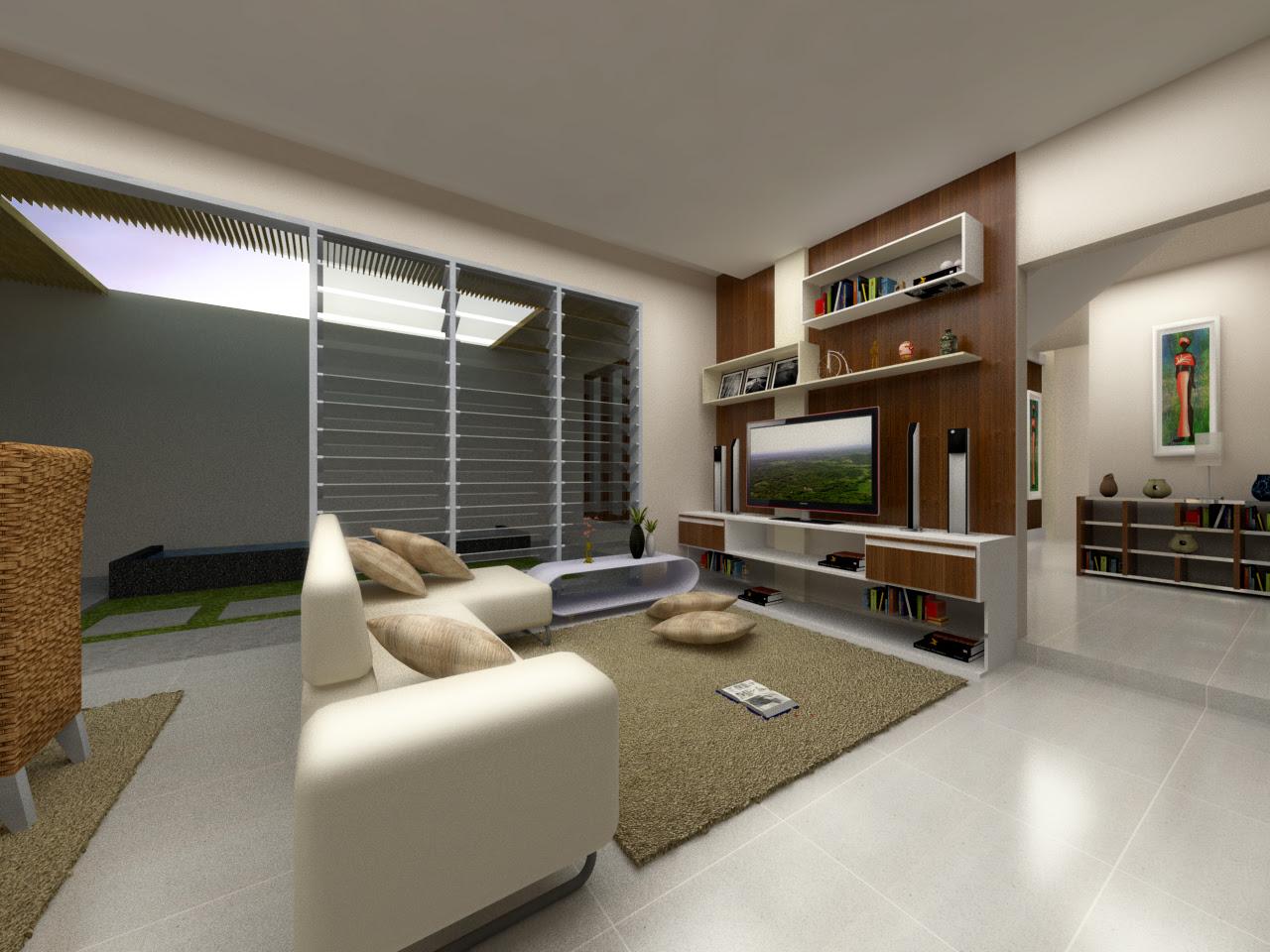 4 Ruang Keluarga  PASt Design