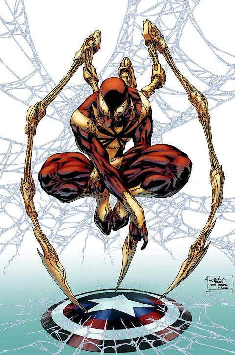 Spiderman Civil War Suit Comic