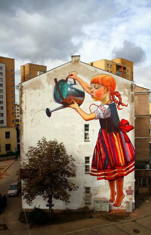 Έργο της Πολωνέζας καλλιτέχνιδας Natalia Rak.