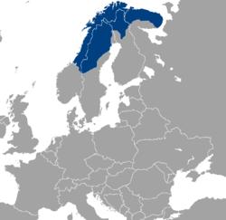 Ubicación Laponia