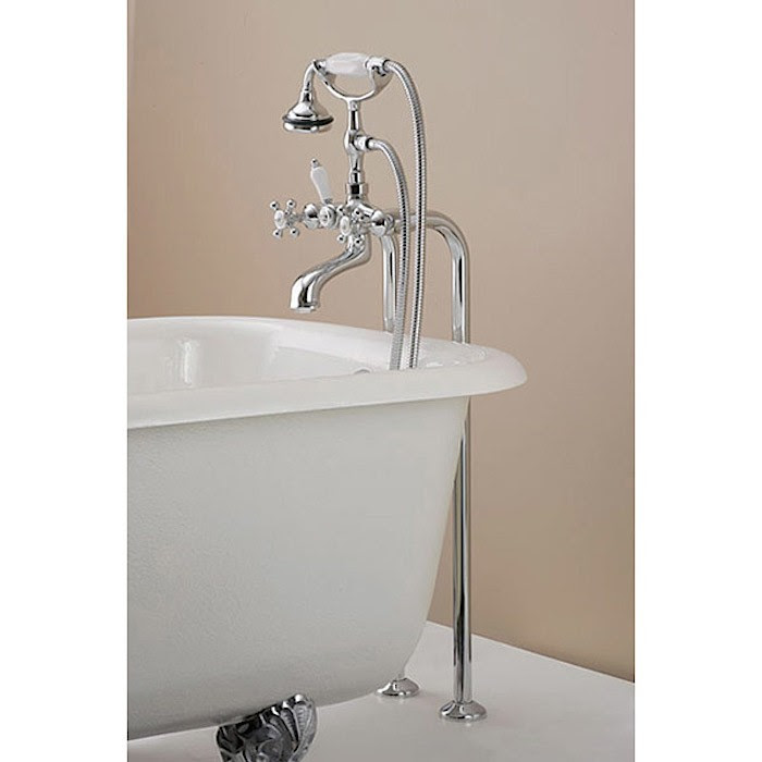 Clawfoot Tub Faucet Floor Mount Faucets For Clawfoot Bathtubs