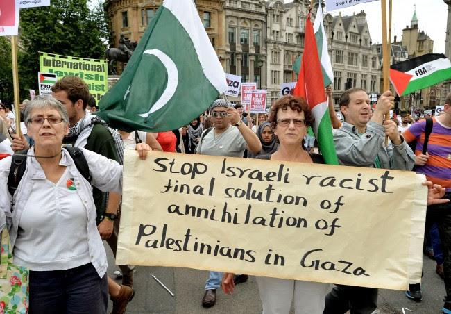 PA 20437402 #GazaJ19: On The Israel Gaza March With Bigots, Humanitarians, Dead Baby Pornographers And Bullshitters