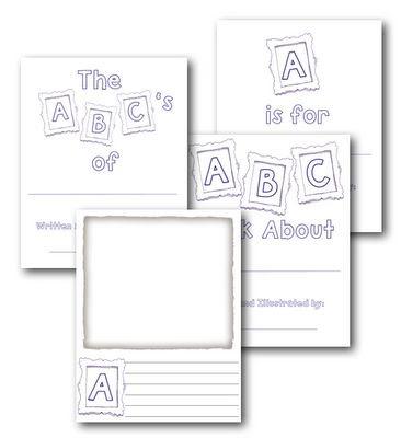 printable alphabet book template calendar june