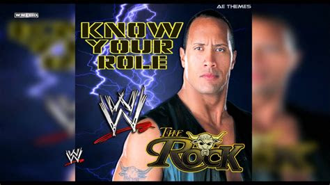 wwe   role  rock theme song ae arena