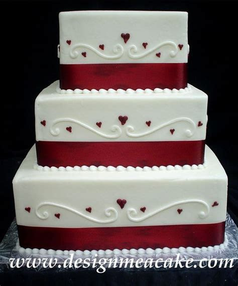 Top 20 Square Wedding Cakes That Wow   Roses & Rings
