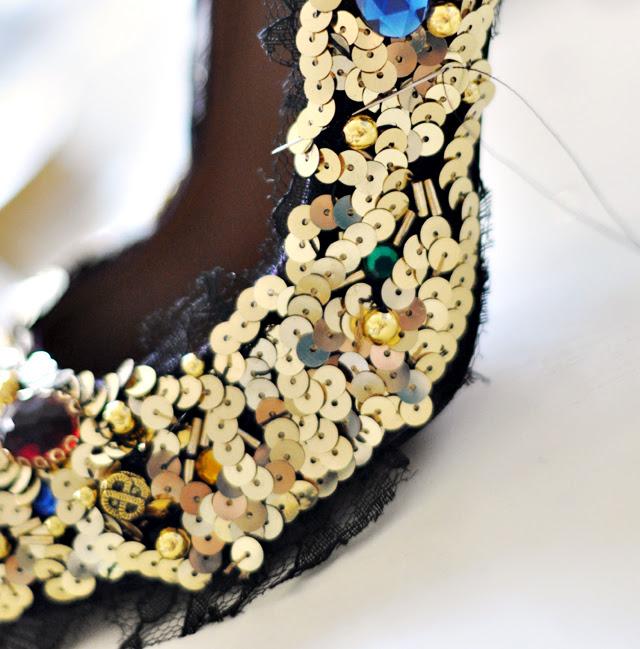 Dolce ve Gabbana Pompalar-Ayakkabı-DIY-15 Embellished