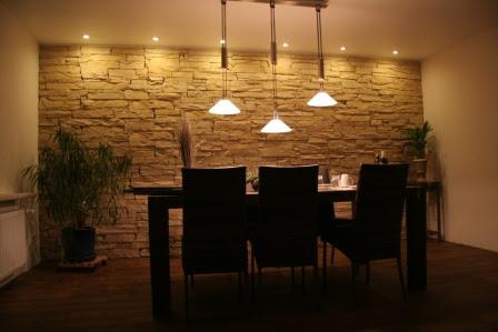 Sa modeller wohnzimmer ideen mit natursteinwand - Natursteinwand wohnzimmer ...