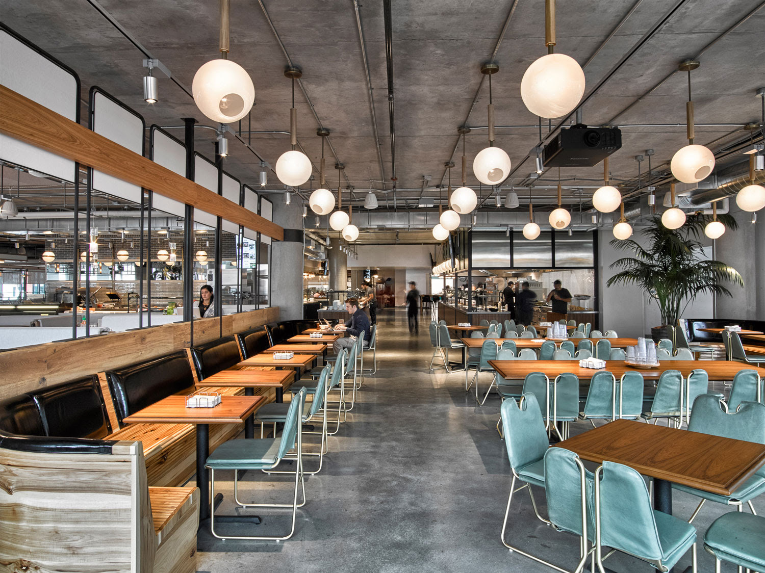 AvroKO Designs Workplace Cafeteria Yellowtrace 01