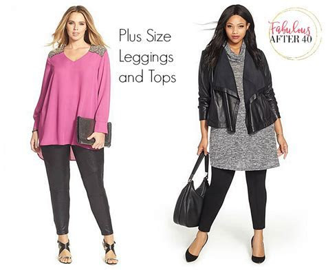 Yes, Curvy Gals Can Wear Leggings Over 40! Here's How