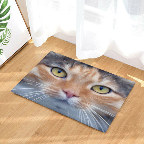 Cat Large Face Pet Waterproof Bathroom Accessories Fabric Shower Curtains 71