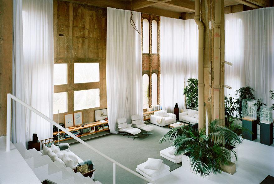 Ricardo Bofill casa personal cemento 9
