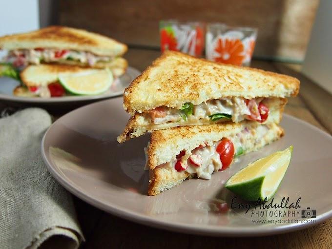 Sandwich Tuna Bersayur