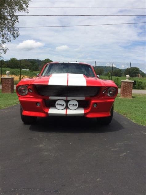 shelby eleanor mustang gt  replica fastback