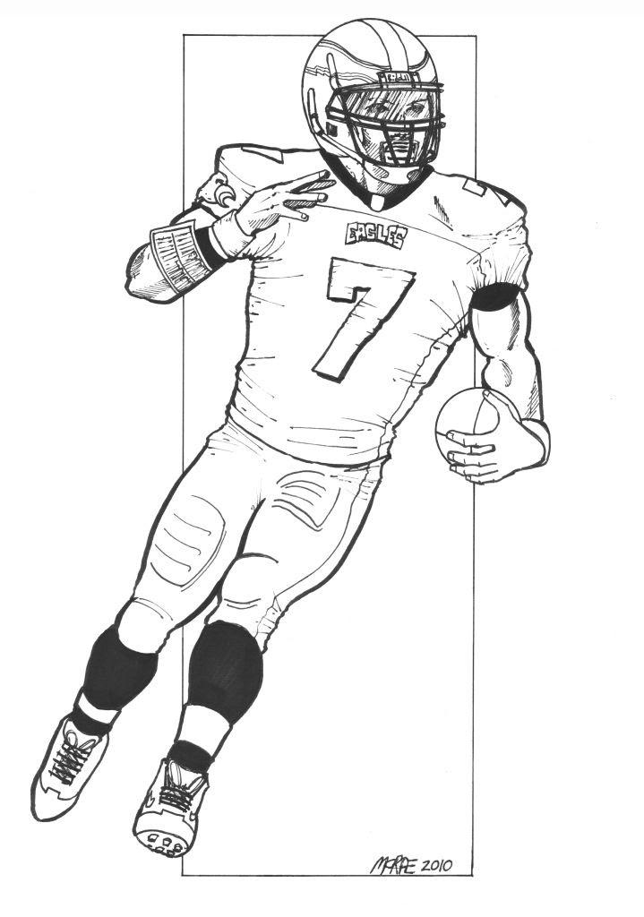 Nfl Player Coloring Pages at GetColorings.com | Free printable colorings pages to print and color
