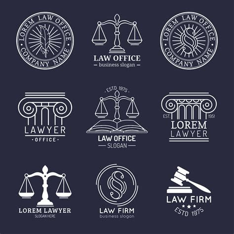 law firm logos  raise  bar designs