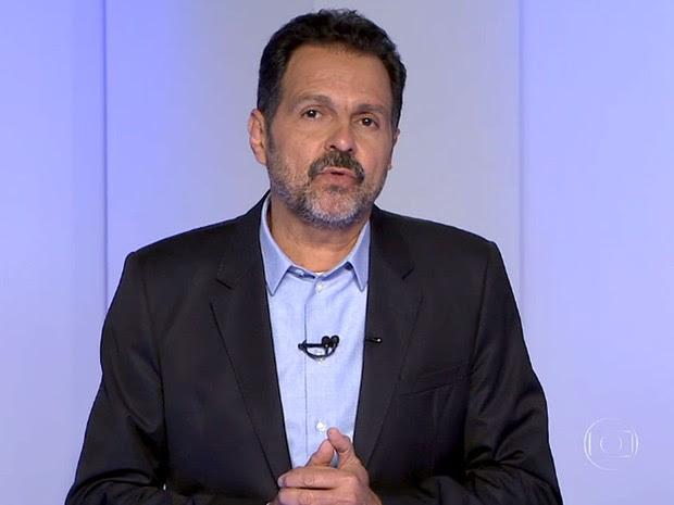 O candidato ao GDF Agnelo Queiroz (PT) durante debate da TV Globo (Foto: TV Globo/Reprodução)
