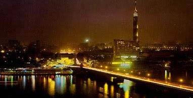 Night View of Cairo