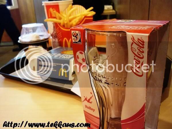 World Cup Fever, MacDonald Contour Glass