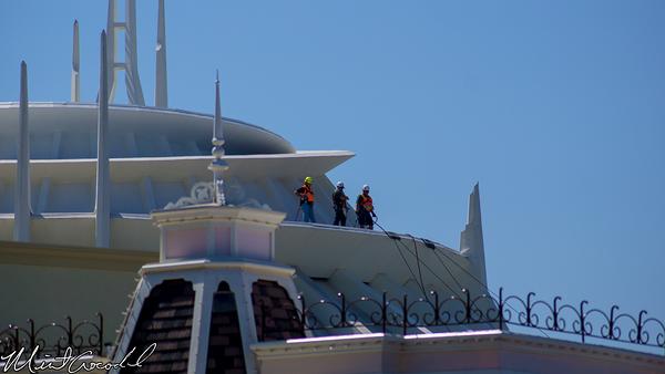 Disneyland Resort, Disneyland, Space Mountain, Cleaning