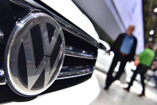 Volkswagen a précisé avoir passé une provision de... (PHOTO AFP)