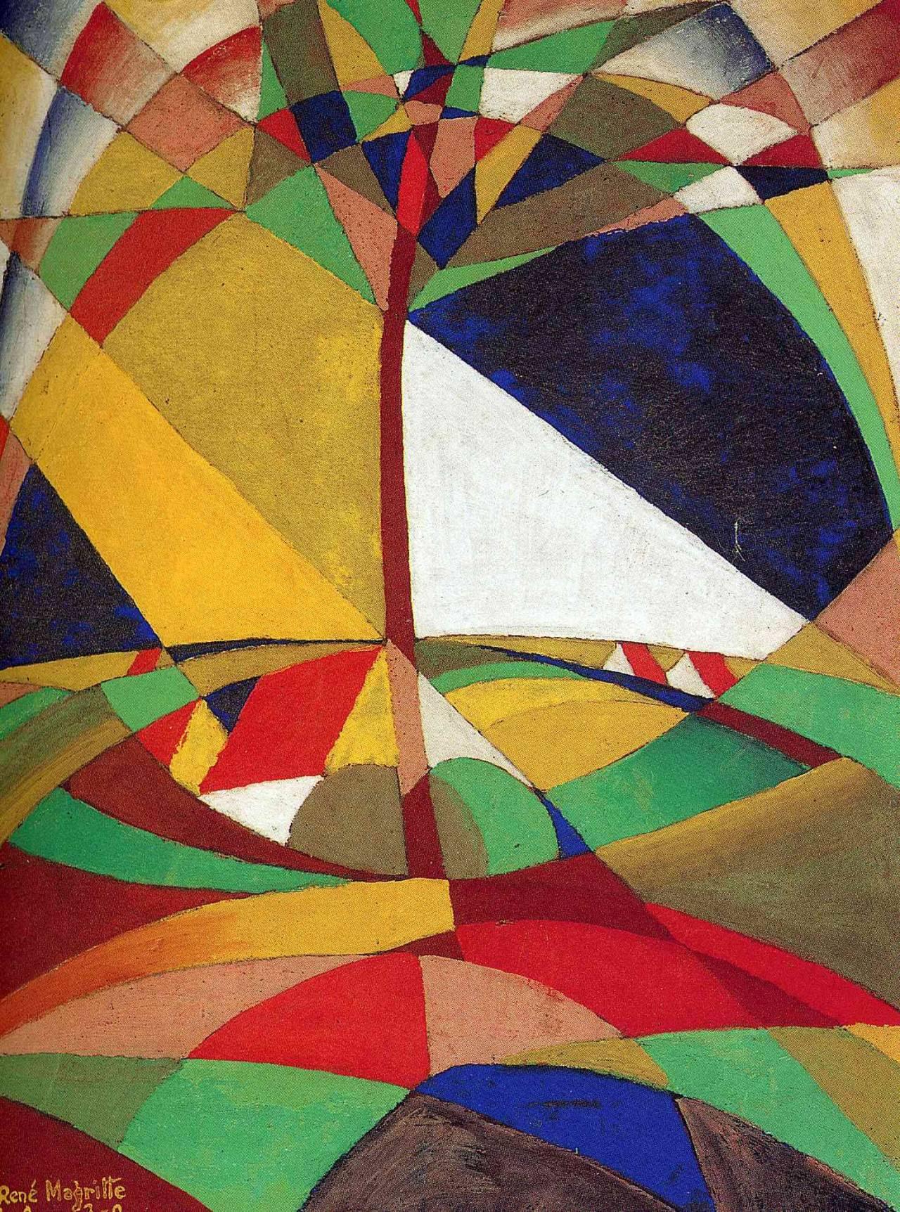 Landscape, 1920 Rene Magritte