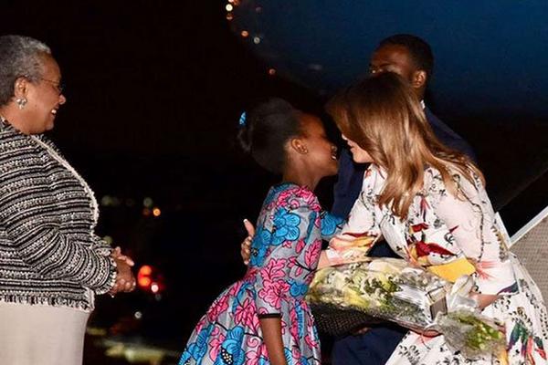 833fc3346be62 Kenya  Melania Trump in Kenya Ahead of Egypt Tour to End Africa Visit