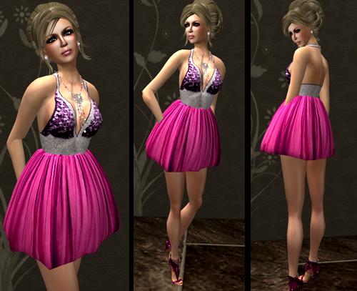 NEW! *Bebe Doll* Nadia Dress v2 - Pink