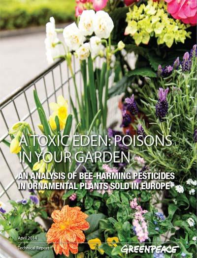 venenos en tu jardín