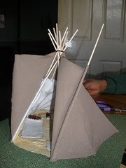 Tipi project - finished cover