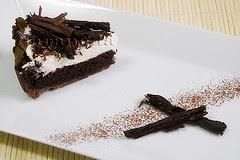 Tarta de chocolate del Misisipi