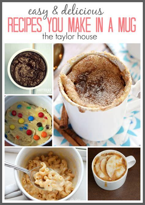 recipes      mug  taylor house