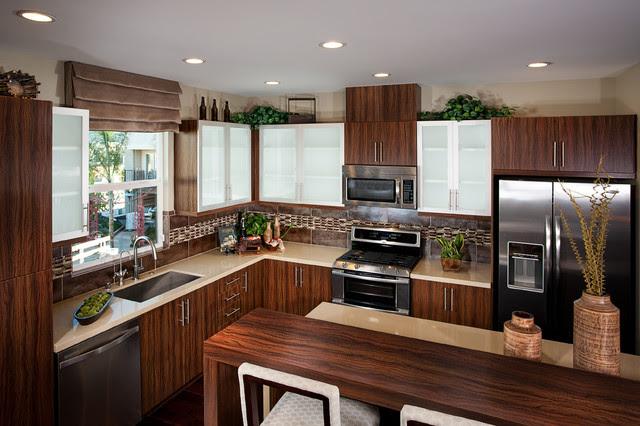 Apartment Redmodeling Phoenix AZ - Contemporary - Kitchen ...