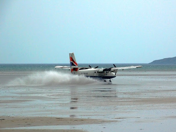 7. Barra International Airport, Scotland