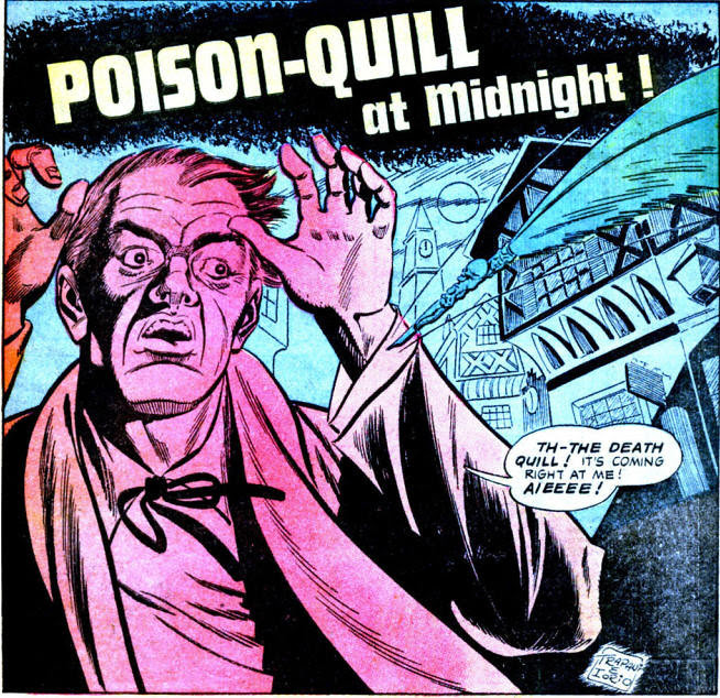 poison quill at midnight