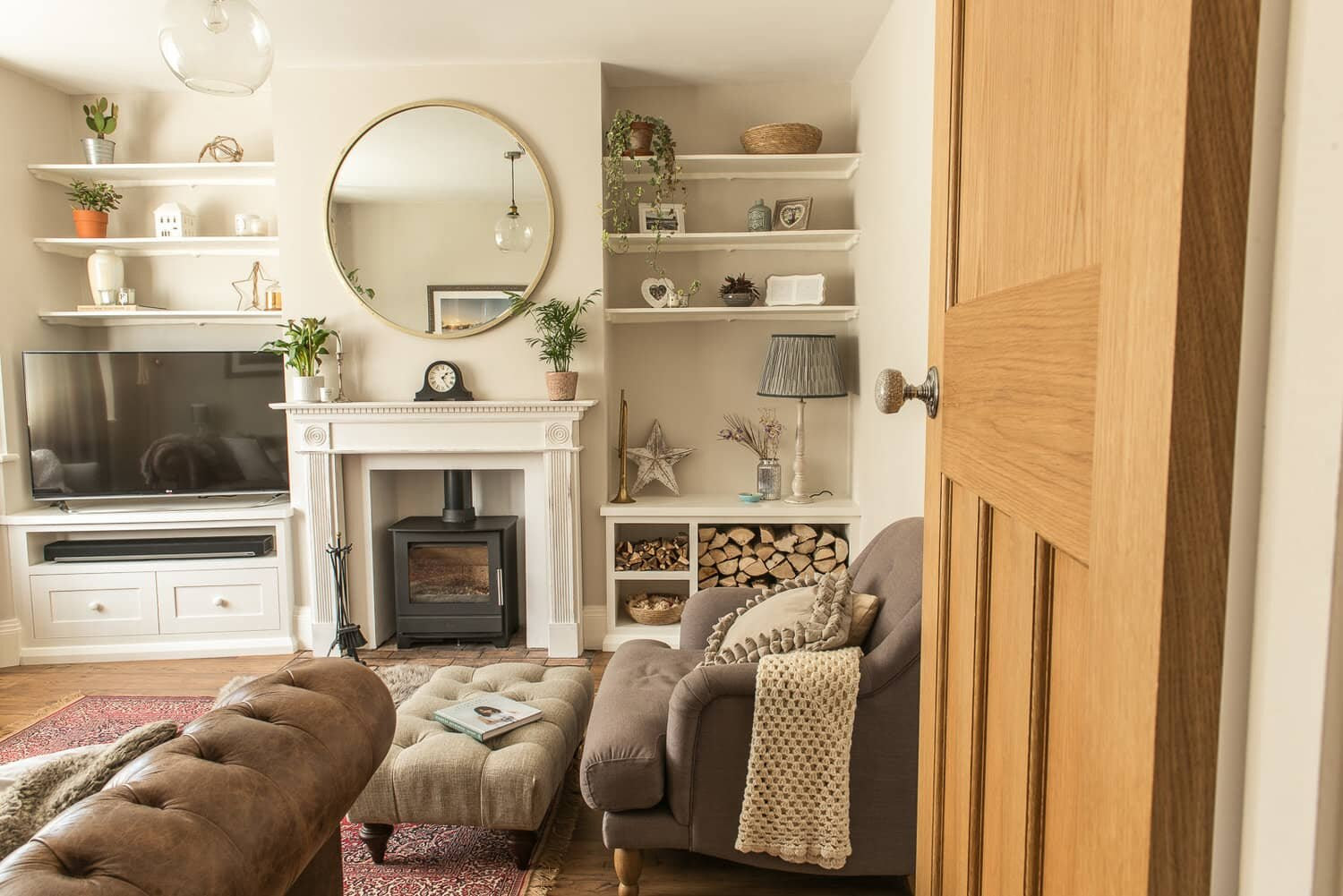 29 clever chimney breast and alcove ideas  Fifi McGee  Interiors