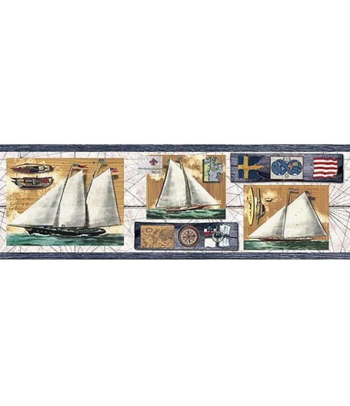 Blue Nautical Wallpaper  WallpaperSafari