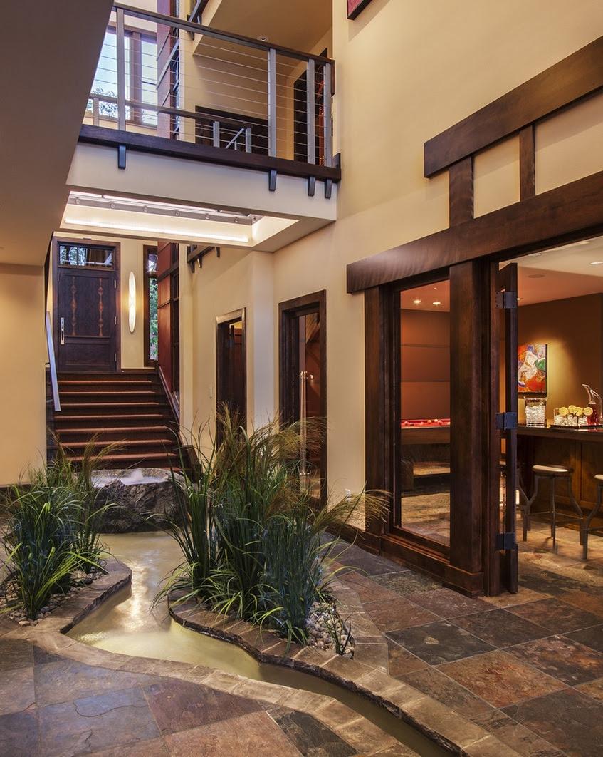 35 Modern Interior Design Ideas Incorporating Columns into ...