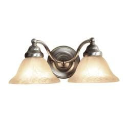 Woodbridge Lighting Anson 2-light Satin Nickel Bath Sconce ...
