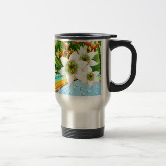 Tropical Exotic Summer Holidays Mugs